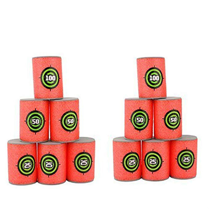 6pcs/pack Soft Darts Targets For Nerf N-strike Elite Gun Game