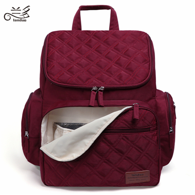 LAND Mommy Diaper Bags Mother Large Capacity Travel Nappy Backpacks with changing mat Convenient Baby Nursing Bags MPB37