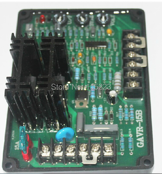 Universal Brushless Generator AVR 15A Voltage Stabilizer Regulator gavr 15a universal brushless generator avr 15a stabilizer