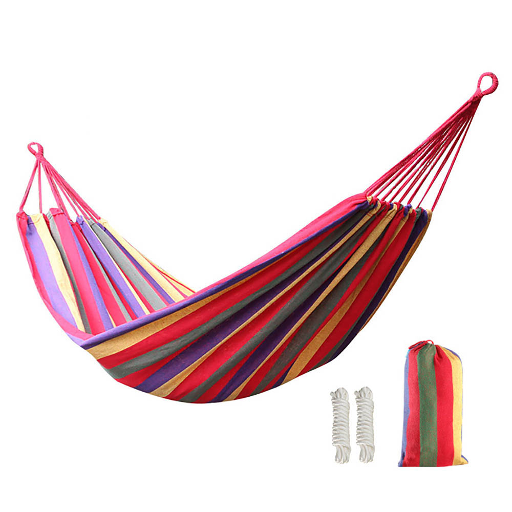 200*100CM Backyard Camping Beach Travel Portable Hanging Sleeping Bed Hammock Red sport Toy ...