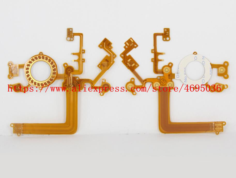 NEW Keyboard Key Button Flex Cable For Canon 60D Digital Camera Repair Part