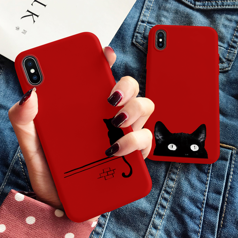 Black Cat iPhone Cover Cases