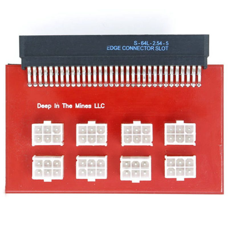 1200w 750w Breakout Board for GPU Open font b Rig b font font b Mining b