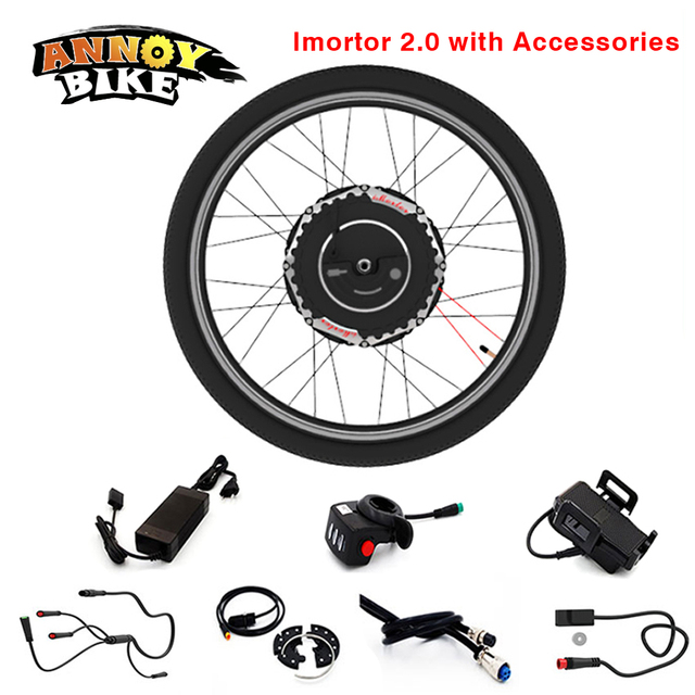 350W24V Hub Motor Bicycle Wheel with Battery Bicycle Generator Electric Wheel Motor with Gear Imortor 2.0 Electric Bike Kit