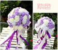2017 мода красочные свадебный букет де noiva pascoa руки холдинг букет невесты де mariage свадебные цветы свадебные букеты