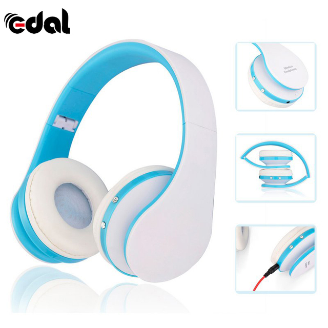 New Digital 4 in 1 Stereo Bluetooth 3.0 EDR Headphones Wireless Headset Music with Micphone For iphone Samsung Hot Sale