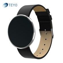 Teyo умный Браслет B10 сна монитор сердечного ритма артериального давления Погода Водонепроницаемый Шагомер будильник SmartBand Android IOS
