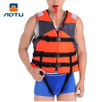 Adult Professional Swimming Jackets Drift Snorkeling Fishing Clothing Buoyancy Vest For Boating Surfing Drifting Free A