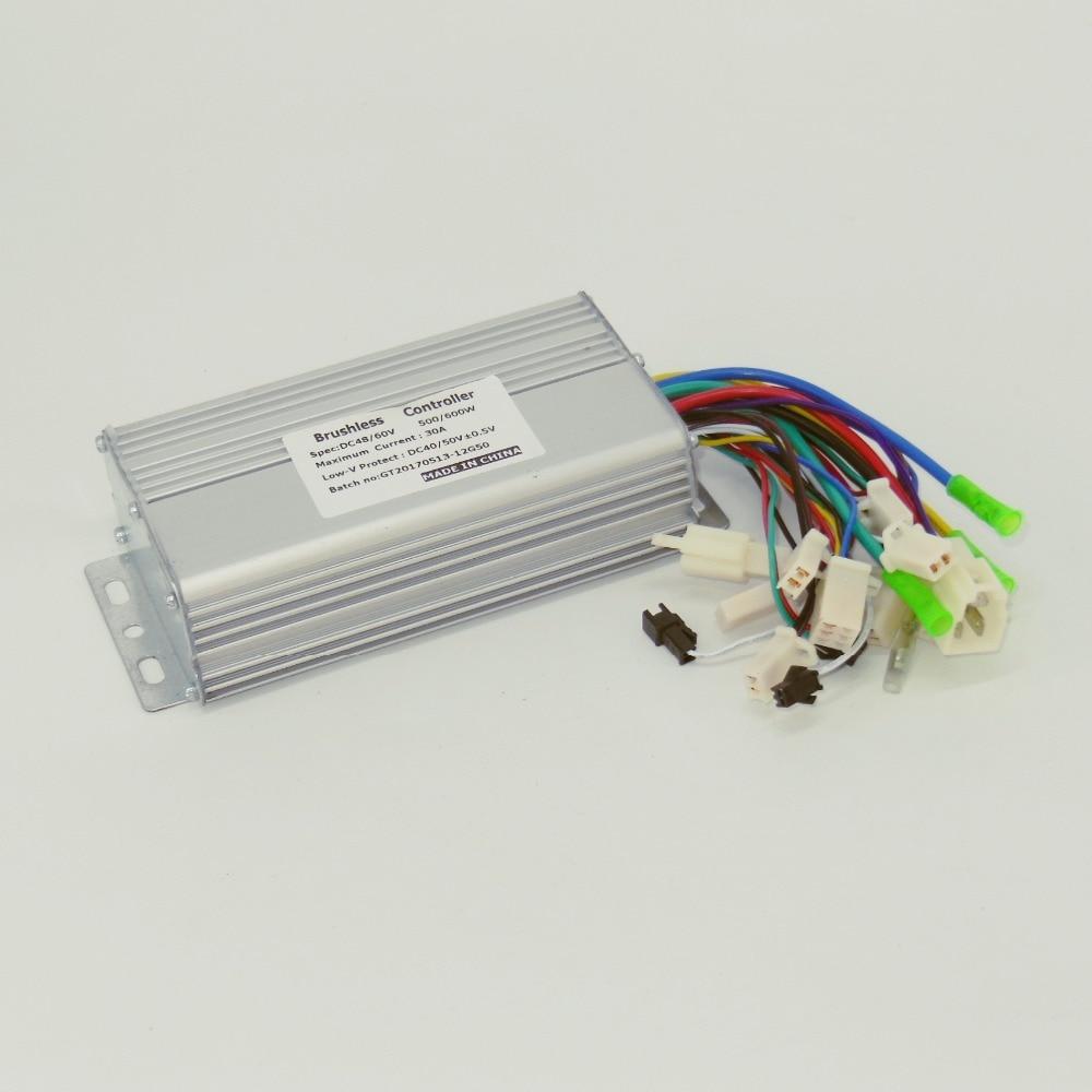 Greentime 48v 60v 500w 600w 30amax Bldc Motor Controller