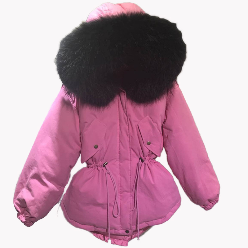 Femmes Laveur Vestes 2018 Réel Arrivée De Nouveau Blue Natural White Feminina Raton Black white black Grenn rosered white Pink Causal Femme À black D'hiver Grey Natural black black Taille Fourrure Chaqueta Pink Green Natural army army rosered grey Mujer Large Grand Wgite grey Green army Grey White grey Parka tvxq5TYvrw