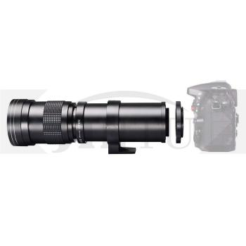 JINTU 420-800mm PRO II f/8.3-F16 Manual Telephoto Lens for Canon T6i T6s T7i SL2 60D 70D 80D 5D III IV 6D 7D II Digital SLR