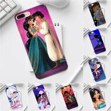 Hot Cartoon Jasmine In Aladdin And The Magic Lamp For Galaxy Alpha Core Prime Note 4 5 8 S3 S4 S5 S6 S7 S8 S9 mini edge Plus(China)