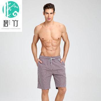 Bi Zhu Household beach pants pants big yards cotton shorts absorbent breathable men summer pyjamas big shorts