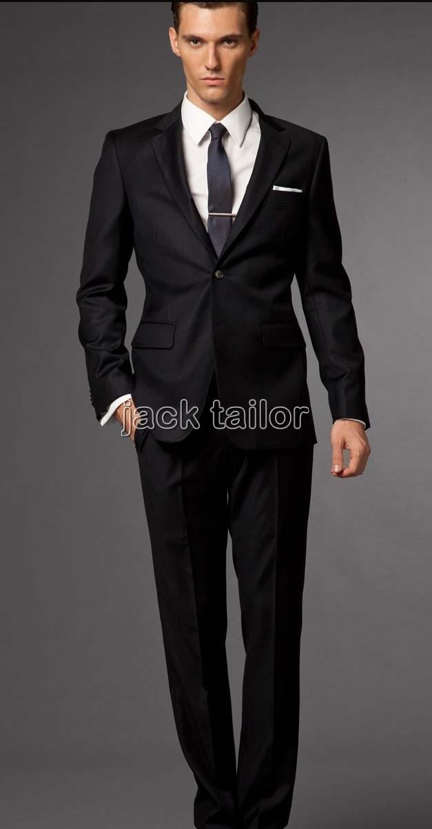 Groom Suit Wedding Suits For Men 2015 Black Mens Suits Wedding ...