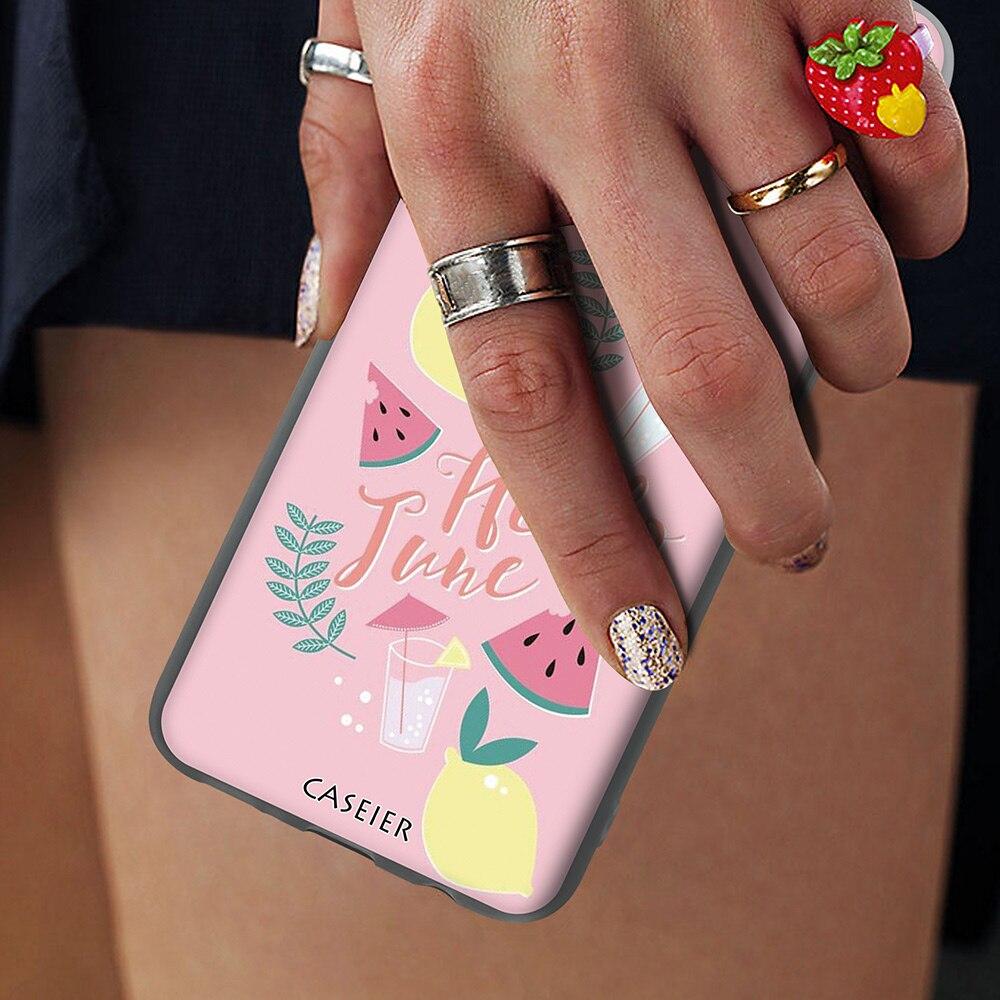 Image 5 - Caseier Прекрасный чехол для samsung Note 8 9 S8 S9 S10 плюс S10E модные чехол для телефона для samsung A7 A5 A6 A8 задняя крышка принципиально Capinha-in Полуобернутый чехлы from Мобильные телефоны и телекоммуникации