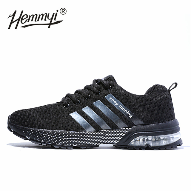 2019 New Breathable Men and Women Sneakers Unisex Outdoor Sports Running Shoes Gym Hard-Wearing Basket Femme Plus Size 11 12