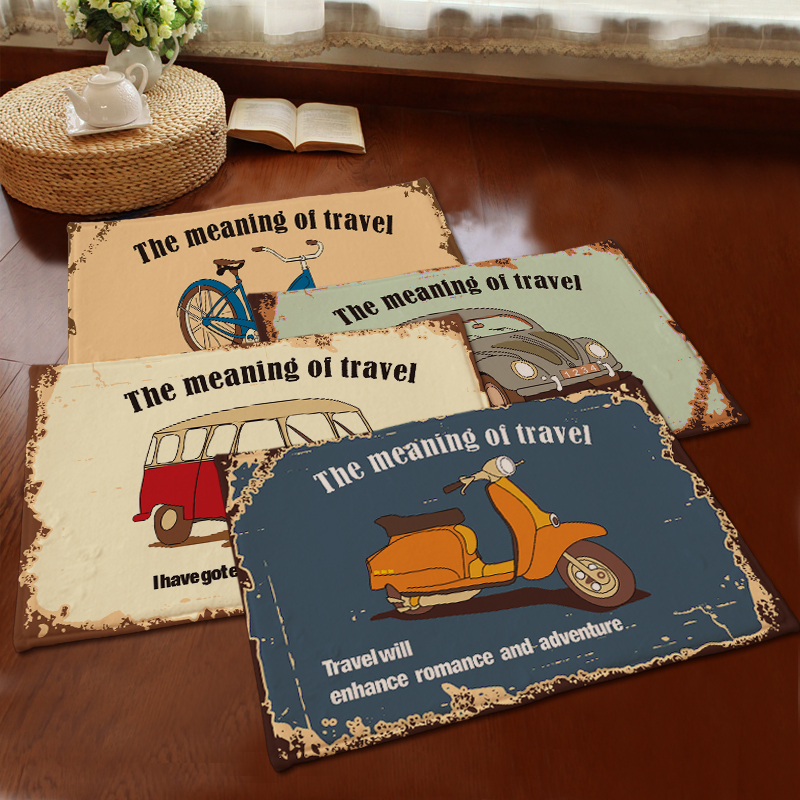 House door mats vintage the meaning of travel floor mat for Meaning floor