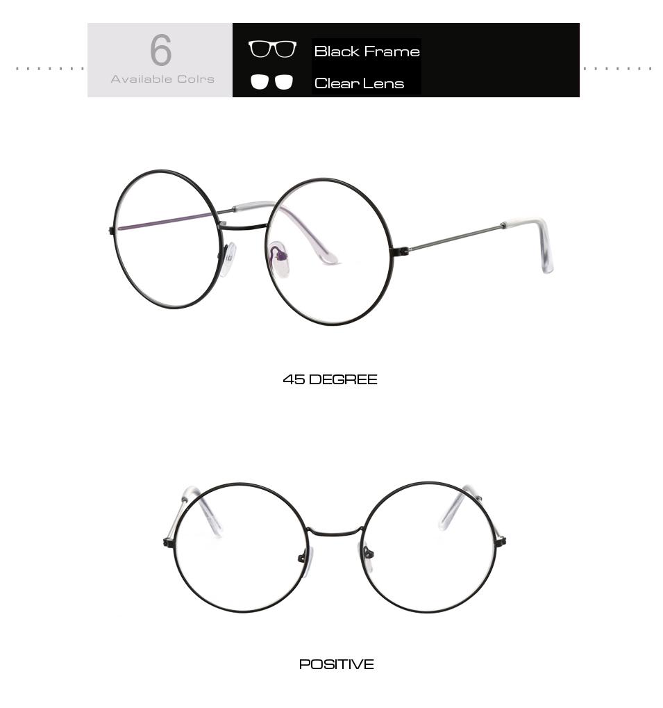 Women's Round Mirror Sunglasses 15