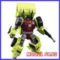 FÃS MODELO IN-STOCK NBK TF Devastator robô Transformação ko versão gt Raspador de brinquedo figura de ação Devastator coxa direita