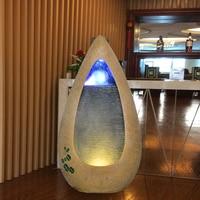 Европейский стиль фонтан фэн шуй украшения для дома на удачу фонтан увлажнитель украшения для офиса дома