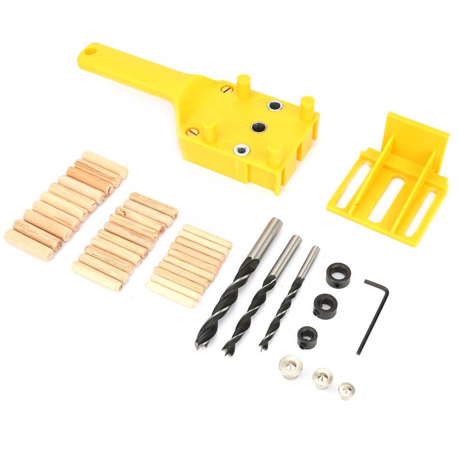 Dowel Pins 41pcs/set 6-10mm ABS Hand-held Wood Punch Woodworking Locator Board Connection Hole Locator Dowel Wood DIY Hand Tools