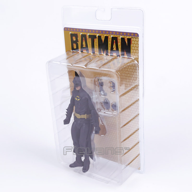 Image 4 - NECA 1989 Batman Michael Keaton 25th Anniversary PVC Action Figure Collectible Model Toymodel toyfigures collectiblespvc action figure -