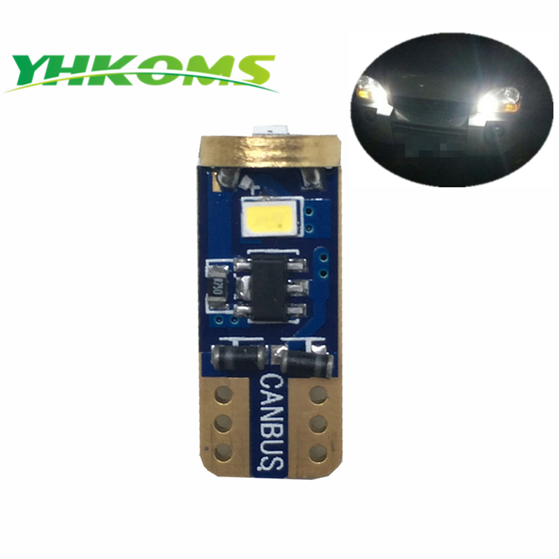 YHKOMS super parlaq T10 canbus LED 3623SMD 194 W5W səhv - Avtomobil işıqları - Fotoqrafiya 2