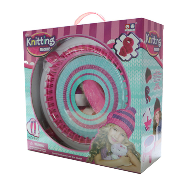 Large Weaver Machine 840 for Child Knitting Machine Yarn Child Machine Knitted Sweater Knitting DIY Toy Christmas Gift Halloween