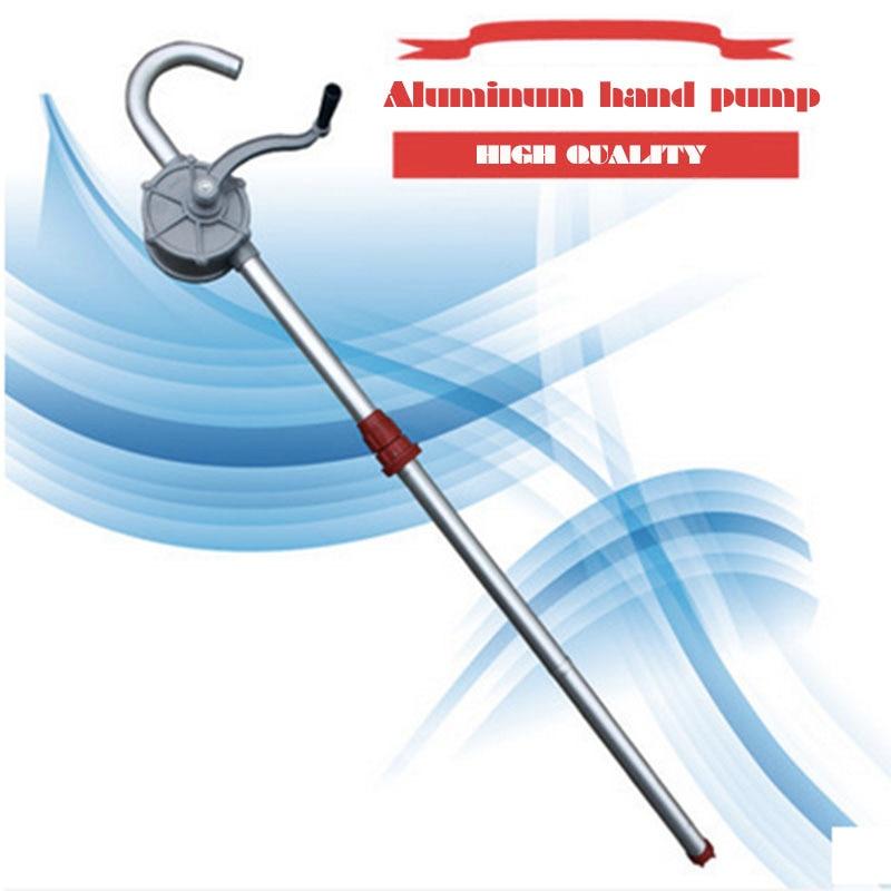 Aluminum alloy hand pump manual kerosene and diesel drum pumps цена и фото