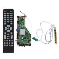 Rede inteligente msd338stv5.0 placa motorista de tv sem fio universal led lcd placa controlador android wifi atvatacado dropshipping
