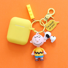 Cute Silicone Case for Apple Airpods  Accessories Bluetooth Earphone Protective Case Cover Cartoon Doll Decoration Gifts