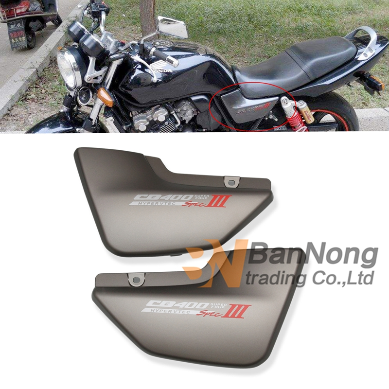 Free shipping motorcycle Plastic side cover side plate Spray paint For Honda CB400 Superfour vtec 1999-2004 motorcycle accessories aluminum balance foreshock front fork brace for honda cb400 vtec 02 2015 cb1300sf 04 2013 free shipping