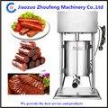 10л нержавеющая сталь Вертикальная колбасная машина для приготовления мяса машина для производства колбасы наполнитель