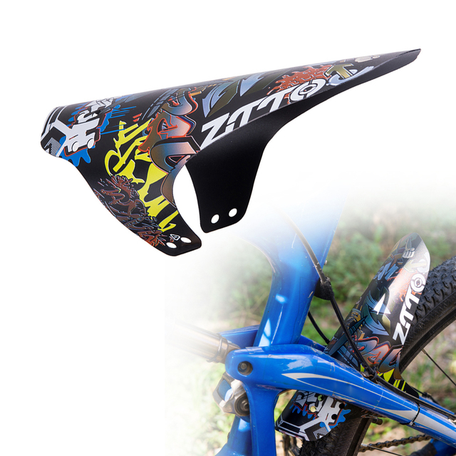 467cff35173 Mountain Bike Fenders MTB Bicycle Front Rear Mudguard Bicycle Parts  Accessories Nylon Tie Bike Cycling Fenders