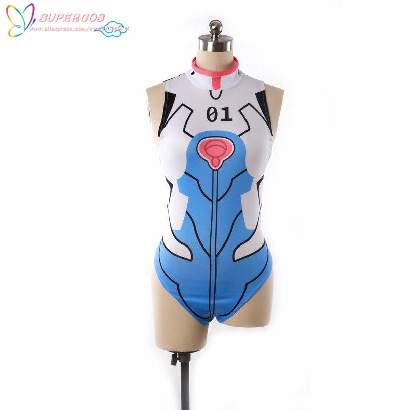 Евангелион EVA Ayanami Rei Купальник форма костюм Косплэй костюм, идеальный для вас!