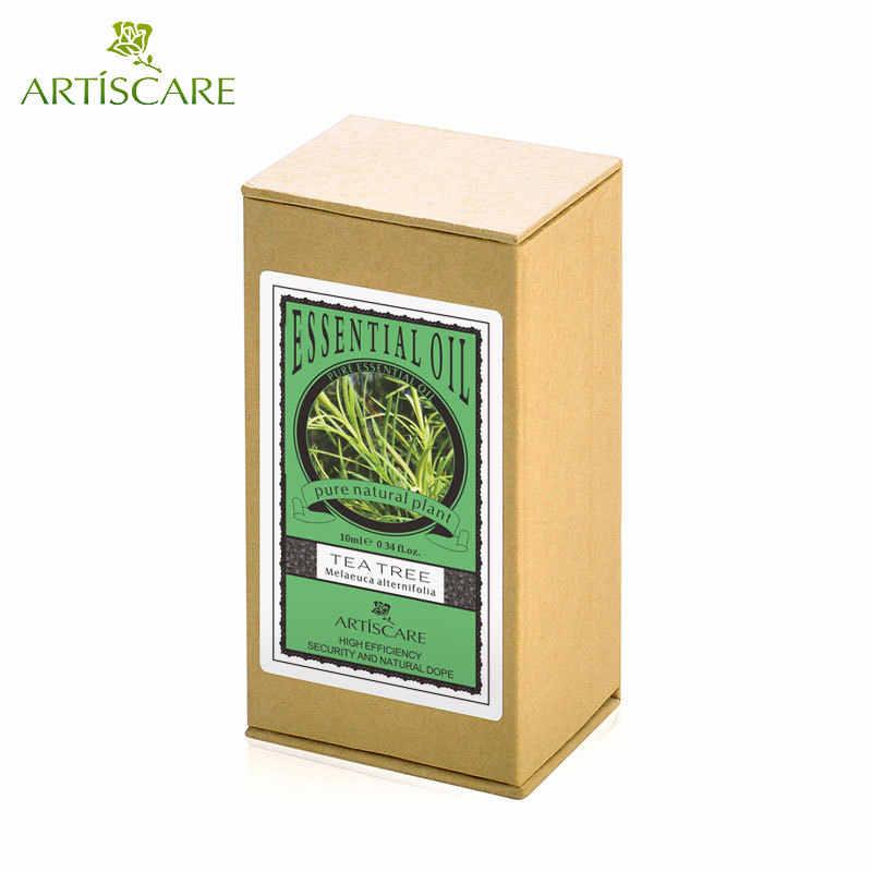 ARTISCARE 100% чистый чай дерево эфирное масло мощное средство для удаления акне для лечения акне и удаления улиток сужает поры масло чайного дерева