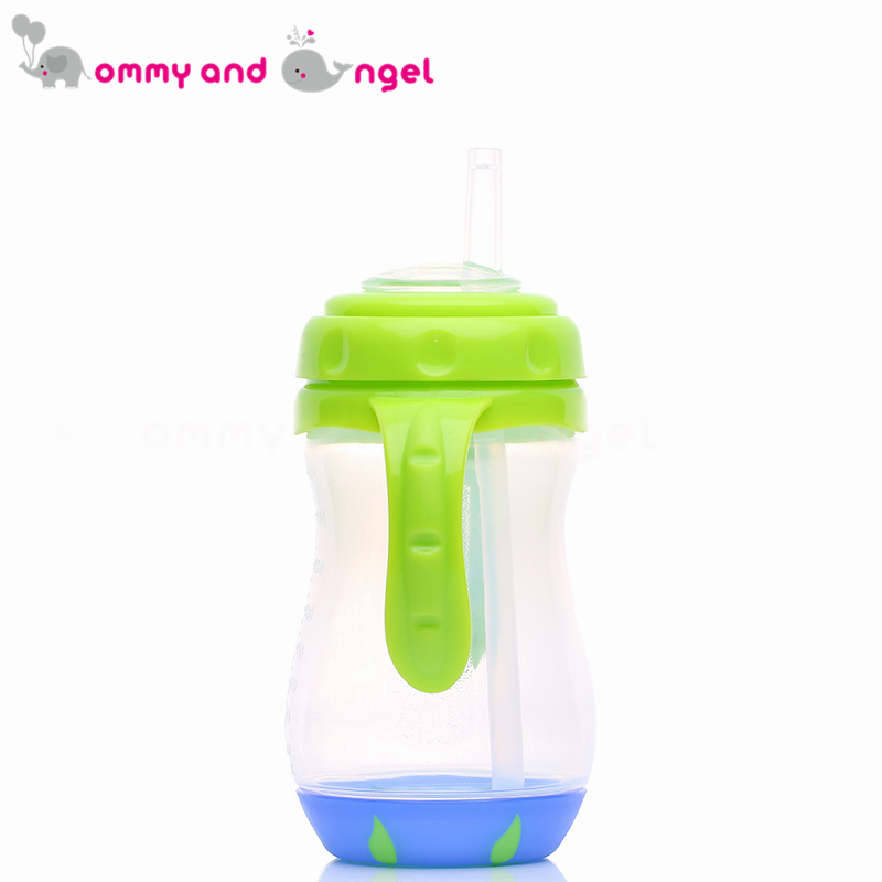 MOMMY AND ANGEL Calssic Boy&Girl Closer to Nature Fiesta Bottle Sippy Cup for Kid Straw Feeding Bottle (3 Colour,270ml,ABE/8095)