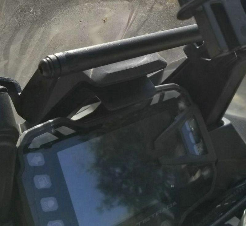Navigation bracket for DUCATI MULTISTRADA ENDURO MULTISTRADA 1200 950 1200S 1200 2015-2017 billet aluminum water pump cover for ducati monster 821 1200 2017 2017 diavel multistrada 1200 1200s
