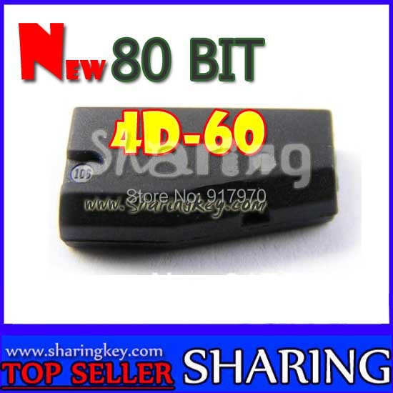 imágenes para Envío gratis (10 unids/lote) Nuevo 80 Bit 4d-60 Chip transmisor Para toyota ford nissan llave del coche oferta mejor precio