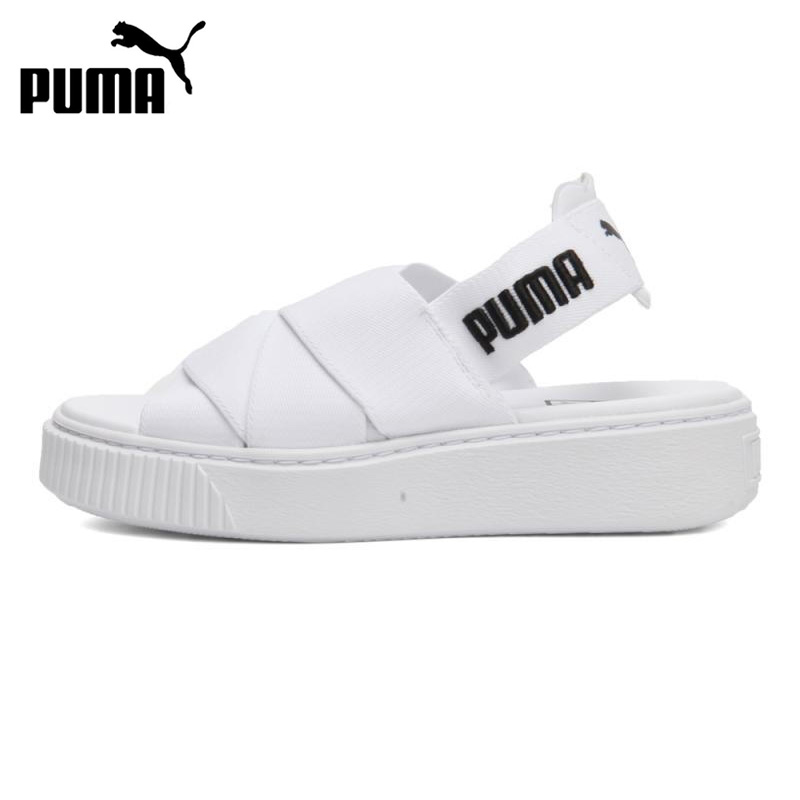 Original New Arrival 2018 PUMA Platform Sandal Wns Womens Outdoor Sandals Sports Sneaker ...