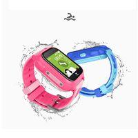 IP67 Водонепроницаемый миниатюрный для детей часы Смарт-часы детские для детей для браслета брелока с adroid приложение для ios для трека без абон...