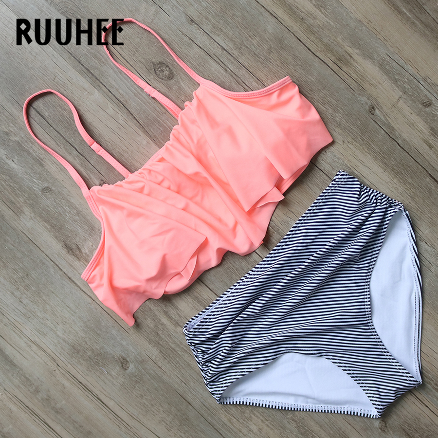 RUUHEE Brand Sexy Bikini Swimsuit Swimwear Women 2017 Brazilian Bikini Set Bathing Suit Beachwear Maillot De Bain Biquini Femme ruuhee bikini swimwear women swimsuit 2017 bikini set bathing suit reversible brazilian beachwear push up maillot de bain femme