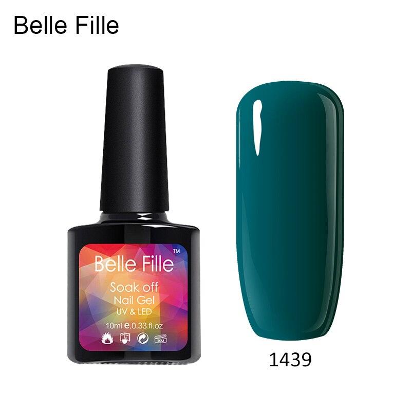 Natural clear colours salon UV gel nail polish at home gel manicure ...