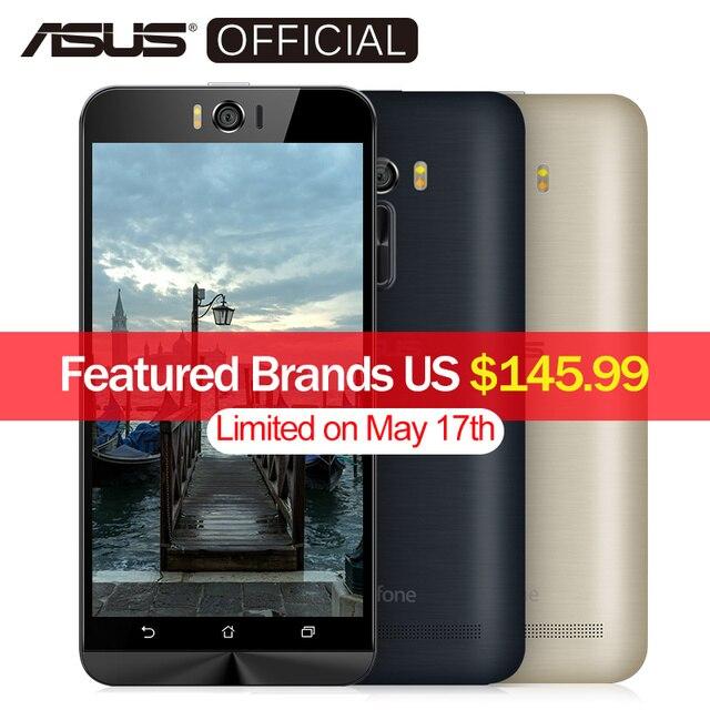 Asus zenfone selfie zd551kl 3 ГБ ram 32 ГБ rom 13.0mp камера android 5.0 окта основные 5.5 ''1920x1080 snapdragon 4 г lte смартфон