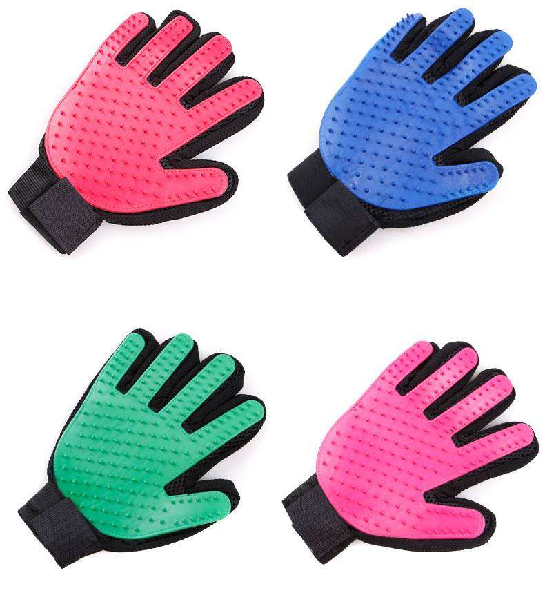 Best buy ) }}Hot Silicone Dog Glove Dog Accessories Soft Use