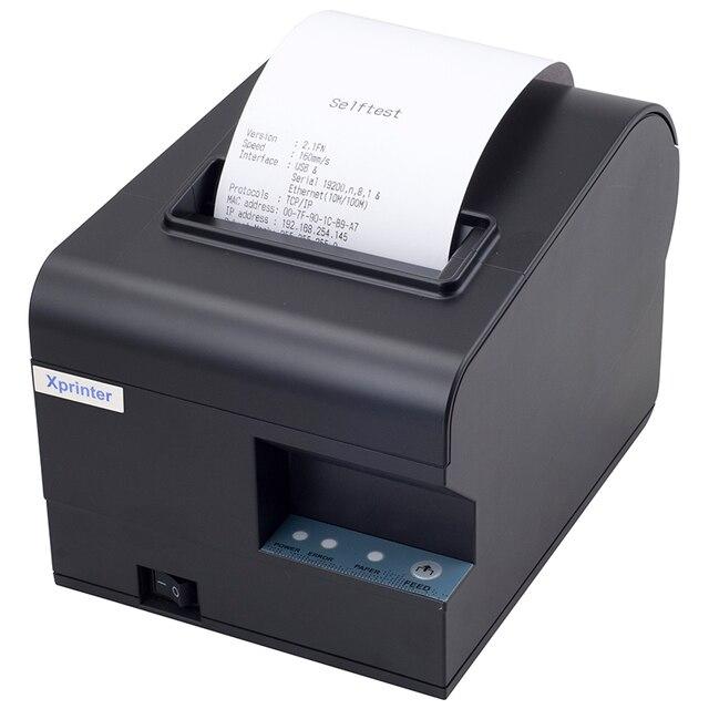 Оптовая 2017 НОВЫЙ Высокое качество 80 мм чековый принтер Маленький билет XP-N160II POS принтер автоматической резки скорость печати Быстро