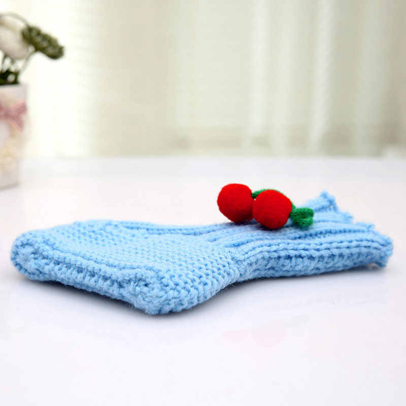 b9eb17f67 ... Kids Baby Boy Girls Warm Knit Crochet Socks Toddler Infant Wool Boots  Crib Shoes Autumn Winter ...