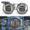 For Harley Motorcycle Light Electra Glide Softail Fat Boy Touring 7 Inch Motor For Harley LED Headlight with 4 5 Inch Fog Lamps review