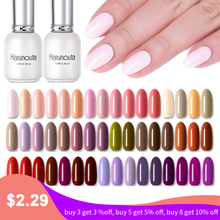 Harunouta Colorful Gel Polish Soak off UV Lacquer Long Lasting 96 Colors Nail High Quality Varnish