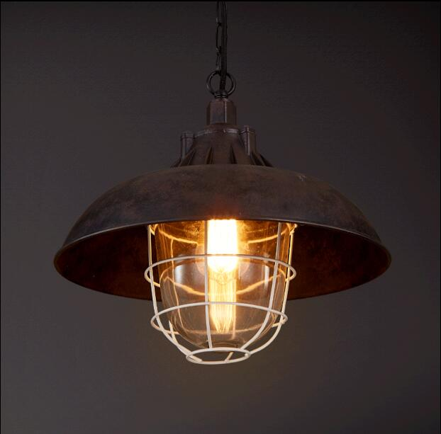 American Style Loft Industrial Lamp Vintage Pendant Lights Living Dinning Room Retro Hanging Light Fixtures Lampe Lighting american style loft industrial lamp vintage pendant lights living dinning room retro hanging light fixtures lampe lighting